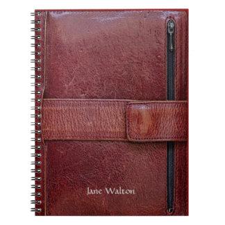 Führungskraft-Blick-persönliches Organisator-Effek Spiral Notizbuch