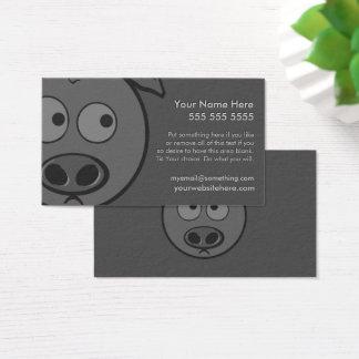 Führungskraft-Schwein Visitenkarte