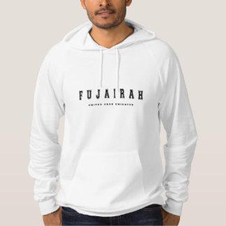 Fujairah Arabische Emirate Hoodie