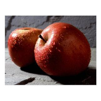Fuji-Äpfel Postkarte