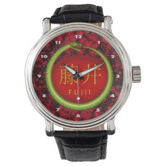 Fujii Monogramm-Schlange Armbanduhr