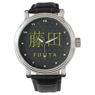 Fujita Monogramm Uhr