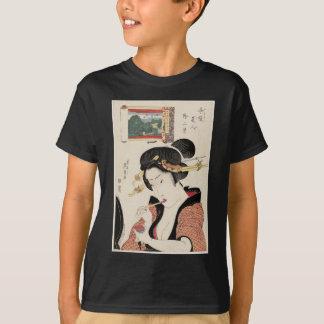 Fukagawa Hachiman kein Shin Fuji, von der Reihe T-Shirt