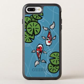 Fuku und Heiwa, die das Koi Otterbox Telefon OtterBox Symmetry iPhone 8 Plus/7 Plus Hülle