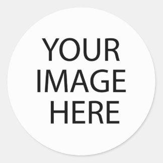 Füllen Sie Aufkleber-Schablone Runder Aufkleber