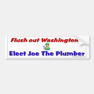 Füllen Sie Washington aus Autoaufkleber