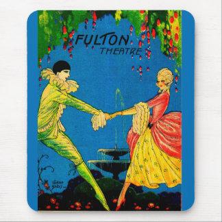 Fulton-Theaterprogramm-Abdeckungskunst 1927 Mousepad