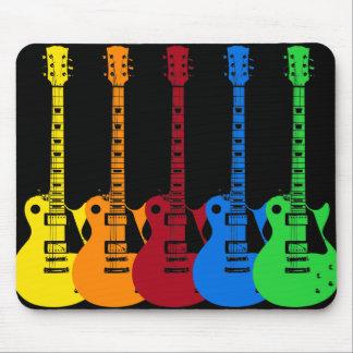 Fünf E-Gitarren Mousepad