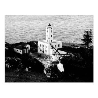 Fünf Finger-Insel-Leuchtturm Postkarte