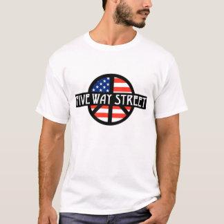 Fünf Möglichkeits-Straßen-Band T-Shirt