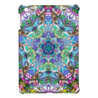 Fünf Punkte der Farbe abstrakt Hüllen Für iPad Mini
