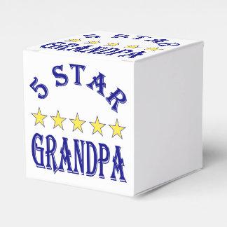 Fünf Stern-Großvater Geschenkschachtel