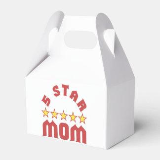 Fünf Stern-Mamma Geschenkschachtel