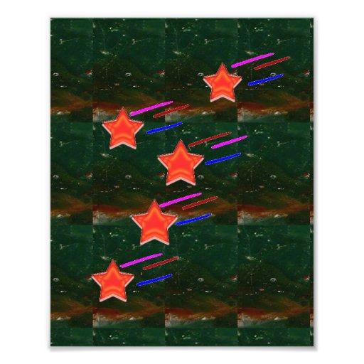 Fünf-SternefiveSTARS Fotografische Drucke