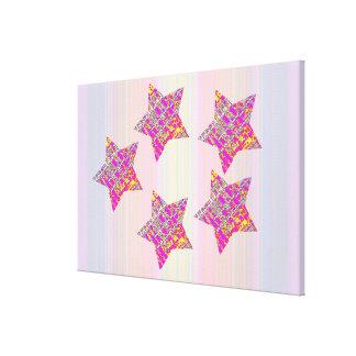 Fünf-Sternemeister Leinwanddruck