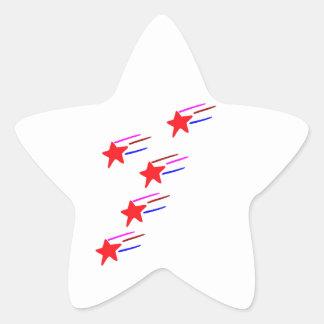 Fünf-SterneRedSTAR künstlerische GESCHENKE   ALLE Stern-Aufkleber
