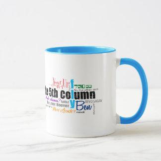 Fünfte Spalten-Team-Tasse Tasse