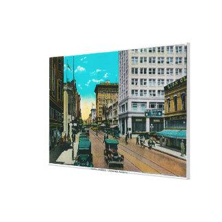Fünfte Straße, die, San Diego Nord schaut Galerie Gefaltete Leinwand