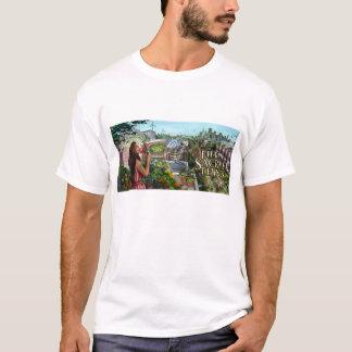 Fünftes heiliges Blumen-Mädchen-T-Stück T-Shirt