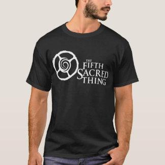 Fünftes heiliges Gegenteil-Spiralen-Logo-T-Stück T-Shirt