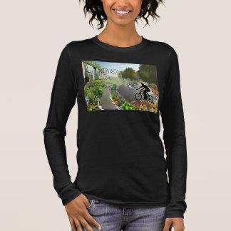 Fünftes heiliges, im Jahre 2048 W.-Spirale Langarm T-Shirt