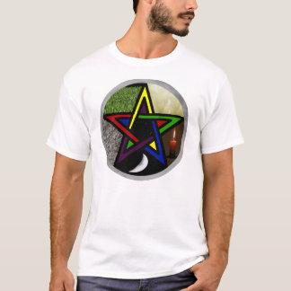 Fünftes Pentagramm-Mythos-T-Shirt T-Shirt