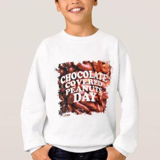 Fünfundzwanzigster Februar Erdnuss-Tag mit Sweatshirt
