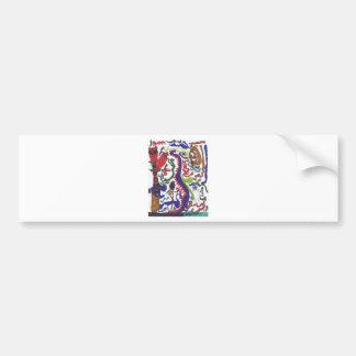 Fünfzig Drachen schwag Auto Sticker