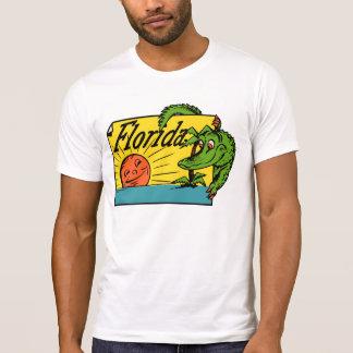 Fünfzigerjahre Florida-Alligatorentwurf T-Shirt