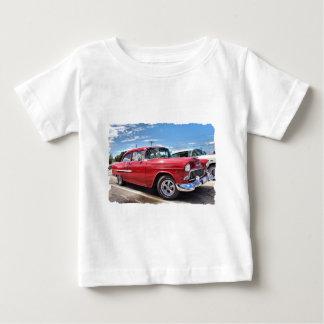 Fünfzigerjahre Klassikerauto Baby T-shirt