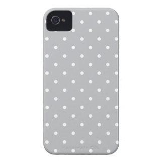 Fünfzigerjahre reden grauen Tupfen Iphone 4/4S iPhone 4 Case-Mate Hüllen