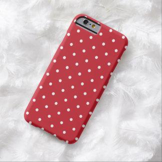 Fünfzigerjahre reden roten Tupfen iPhone 6 Kasten Barely There iPhone 6 Hülle