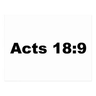 Fungiert 18:9 postkarte
