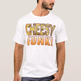 Funk-blaues käsiges T-Shirt