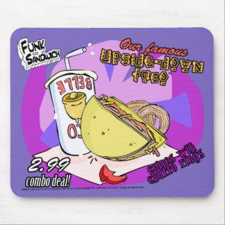 Funk-Sandwich-Oberseite - unten Taco Mousepads