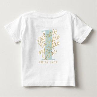 Funkeln-Funkeln mein kleiner Stern Baby T-shirt
