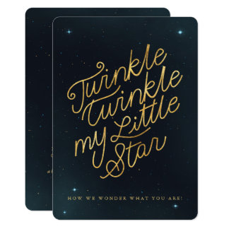 Funkeln-Funkeln mein kleiner Stern Karte