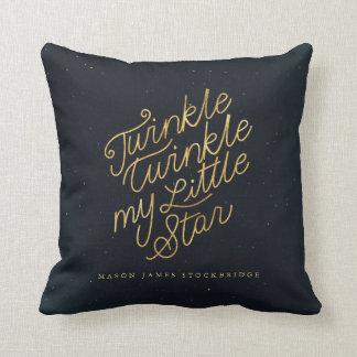 Funkeln-Funkeln mein kleiner Stern Kissen