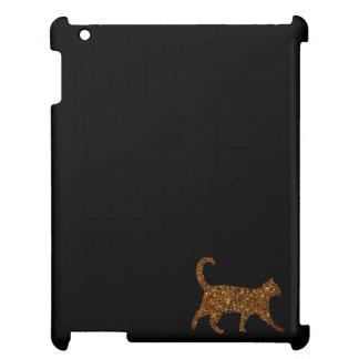 Funkelnd Katze iPad Hülle