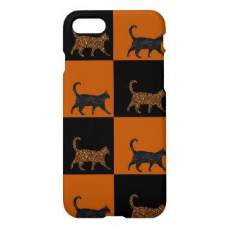 Funkelnd Katzen iPhone 8/7 Hülle