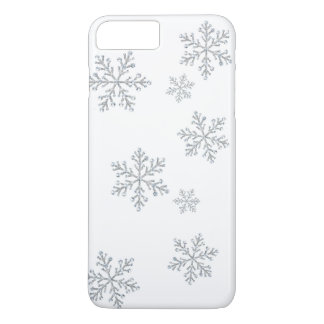 Funkelnd Kristallschneeflocken iPhone 7 iPhone 8 Plus/7 Plus Hülle