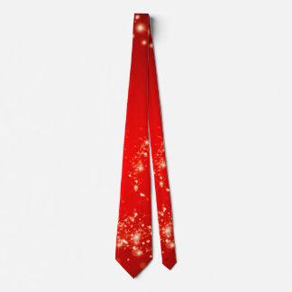 Funkelnd Lichtstrudelrot + Ihre Ideen Krawatte