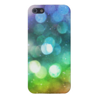 Funkelnd Regenbogen Bokeh Beschaffenheit I Etui Fürs iPhone 5