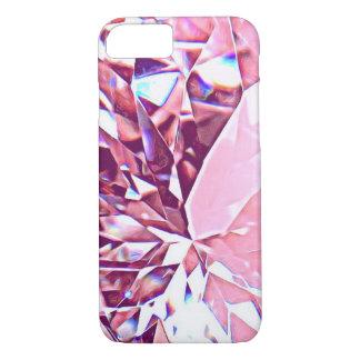 Funkelnd rosa Diamant iPhone Fall iPhone 8/7 Hülle