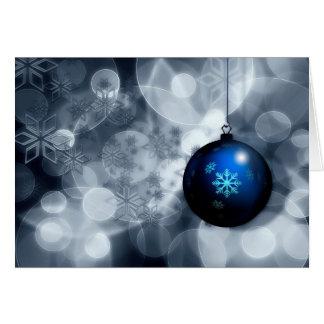 Funkelnd Weihnachten Karte