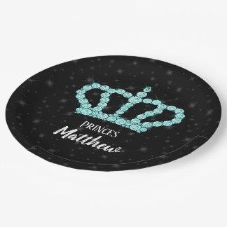 Funkelnde Diamant-Krone - wählen Sie Ihren Pappteller