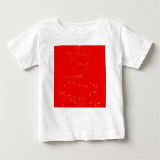 Funkelnder Baum Baby T-shirt