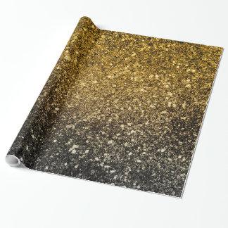 Funkelnder Ombre Glitter Geschenkpapier