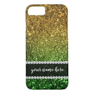 Funkelnder Ombre Glitter iPhone 8/7 Hülle