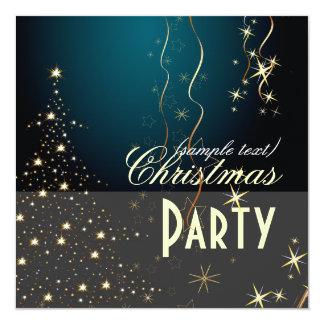 Funkelnder Weihnachtsbaum/Party Einladungen